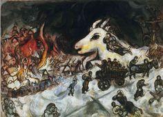 War - Marc Chagall -1966