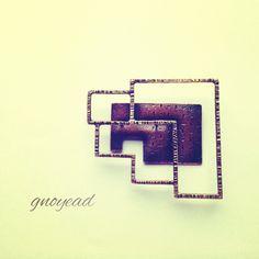 metal craft, jewelry, brooch,