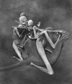 Zdzisław Beksiński untitled - lata 70