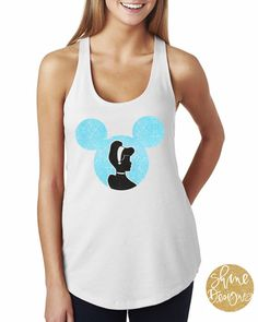 Mickey Mouse Cinderella Glitter Shirt by ShineDesignsTees on Etsy