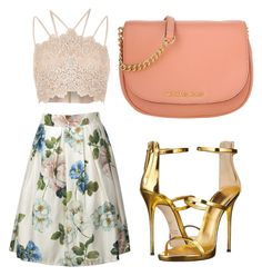 """""""Brunch"""" by twiceyourworth on Polyvore featuring River Island, Giuseppe Zanotti and Michael Kors"""
