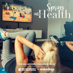 Is this an April Fools joke? NOPE!!  ♀️ 'Spring into Health' with the Annual All-Access Beachbody On Demand and Shakeology Challenge Pack, is NOW only $160USD/$186CAD for ALL of April. ♀️  At this special price, you receive a 'daily dose of dense nutrition' with Shakeology®, and a year's-worth of the best fitness programs on the market, for only $30 more!   Message me at the link in my profile for more info!! Don't miss out on this! ✔️  Marina