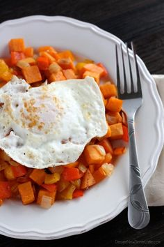 This sweet potato hash is paleo and whole30 approved, easy to make, savory, and satisfying!