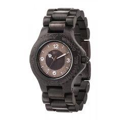 Ceas Sirio Black din lemn WeWOOD.  Reducere 14%. Ceasurile de mana din lemn reprezinta un stil de viata.