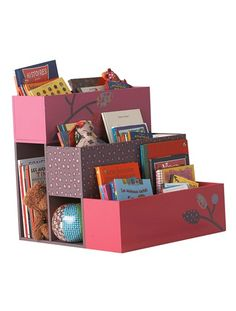 I love this site! This would be good to let kids easily choose and put back books!