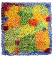 Heinähatun ja Vilttitossun ilmapalloleikki Rya Rug, Wool Rug, Carpets, Fiber, Textiles, Tapestry, Quilts, Blanket, Rugs