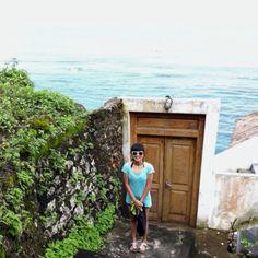 The closest thing to Santorini. LOL. Bingin Beach, Bali, Indonesia.