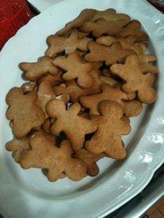 Biscotti omini pan di zenzero