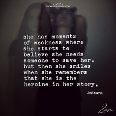 She Has Moments Of Weakness Where She Starts To Believe - https://themindsjournal.com/moments-weakness-starts-believe/