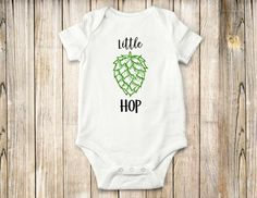 A personal favorite from my Etsy shop https://www.etsy.com/listing/528344757/little-hop-onesie-shirt-baby-clothing