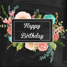 birthday cake decorating ideas for adults - happy birthday cake Happy Birthday Floral, Happy Birthday Art, Happy Birthday Wishes Cards, Happy Birthday Pictures, Birthday Blessings, Birthday Wishes Quotes, Happy Wishes, Birthday Love, Happy B Day