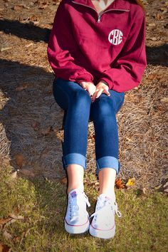 1/4 Zip Monogramed Pullover by ThePreppySeahorse on Etsy https://www.etsy.com/listing/123719239/14-zip-monogramed-pullover