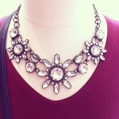 mark. girl Over Ice Statement Necklace