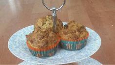 Gezond eten met Karen:  havermout muffins.