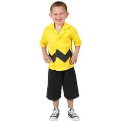 ## VERY Cute ##: Child's Toddler Charlie Brown Costume (Size: 2-4T)