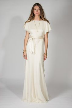 28c68a63882 The Luna 70s Wedding Dress