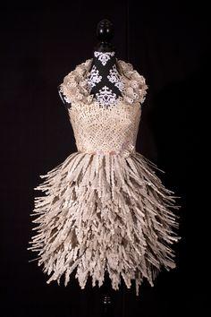 Paper Dresses | Artist: Carrie Ann Schumacher | Poeme Blog