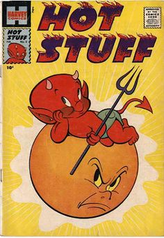 COMIC_hot_stuff_03 #comic #cover #art