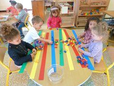 Atelier tri alignement Pre Writing, Writing Skills, Color Activities, Preschool Activities, Body Preschool, Transportation Theme, Color Shapes, Fine Motor Skills, Creative Crafts