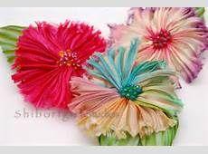 Shibori Silk Ribbon Flower - Bing images