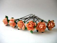 Ballet Bun Flower Accessories For Children's by BabyBunheads