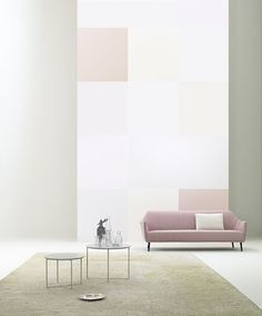 Perfect sofa from Finnish Adea (love the colors!)
