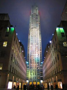 """about-usa: """"  Rockefeller Center - New York City - New York - USA (by Andrew Dallos) """""""