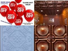 Ceiling Tiles Huge Discounted Prices up to off Decorative Ceiling Tiles Glue Up Plastic Back Splash Drop Ceiling Tiles, Dropped Ceiling, Ceiling Medallions, Discount Price, Backsplash, Coupon Codes, Sale Items, How To Apply, Coding