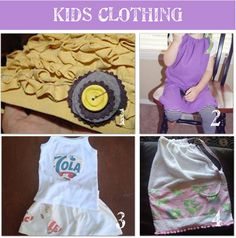Repurpose kids clothes