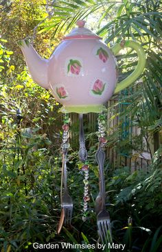 garden whimsy windchime