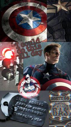 Captain America aesthetic wallpaper by juli3569 on DeviantArt
