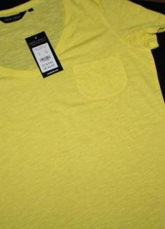 Nowy neonowy cytrynowy t-shirt New Look S Polo Shirt, T Shirt, Asos, Polo Ralph Lauren, Zara, Mens Tops, Fashion, Moda, Polos