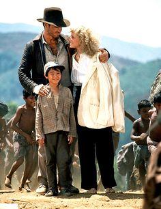 Indiana Jones and the Temple of Doom - Harrison Ford, Kate Capshaw, Jonathan Ke Quan