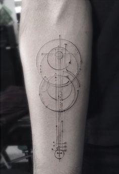 minimalist compass tattoo - Google Search