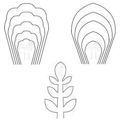 ALL ITEMS INSTANT DOWNLOAD Complete Set of 2 flower PDF templates and 1 leaf PDF template Handmade Item Instant Digital Download : 1 PDF included Materials: our downloadables files, paper, glue, scissors, pencil made to order questions? contact the shop owner Create your own