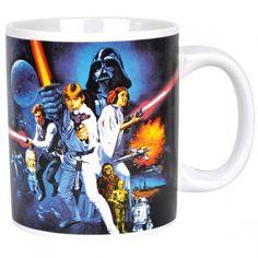🌟 Nouveauté : Mug Star Wars IV 8.90€ ➡ http://ow.ly/c6oF30569Xf  Pour les nostalgiques de la 1ère trilogie !