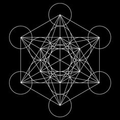 Metatron's Cube. In sacred Geometry, the archangel Metatron oversees the flow of energy in a mystical cube, which contains all the geometric shapes in God's creation and represents the patterns that make up everything God has made. These duties tie in with Metatron's work overseeing the Tree of Life in Kabbalah, where Metatron sends creative energy down from the top of the tree (the crown) toward all of creation.