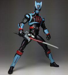 Shadow Ranger (Power Rangers) Custom Action Figure by ManyMack Creationz Base figure: MU