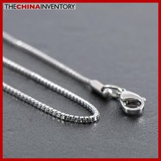 1.2MM 22` STAINLESS STEEL MINI BOX CHAIN NECKLACE N1012