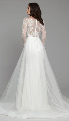 Courtesy of Tara Keely Wedding Dresses from JLM Couture; www.jlmcouture.com/tara-keely; Wedding dress idea.