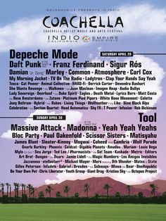 What Past Coachella Lineups Would Look Like Today