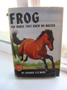 vintage children's book famous horse stories series by mudintheUSA