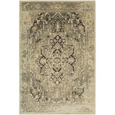Anchor your living room or master suite ensemble with this stylish rug, featuring an elegant medallion motif.   Product: Rug