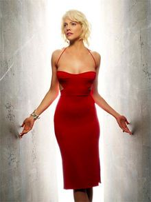 """Number Six is a family of fictional characters from the reimagined science fiction television series, Battlestar Galactica. She is portrayed by Canadian actress and model Tricia Helfer. Of the twelve known Cylon models, she is the sixth of the """"Significant Seven"""". Like the others of the """"Significant Seven"""", there are several versions of her, including Caprica-Six, Shelly Godfrey, Gina Inviere, Natalie Faust, Lida and Sonja."""