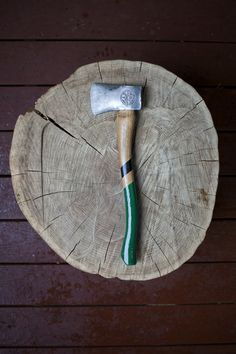 BAD AXE: We will need a fellow to chop our wood. We can prop ourselves up in the yard with Hatchet tea or 'scati to watch closely. And discuss.There is a difference between an Axe and a Hatchet