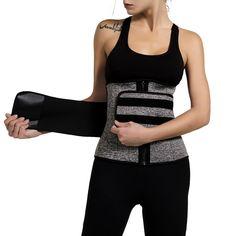 Neoprene Sauna Waist Trainer Corset Sweat Belt for Women Weight Loss Compression Trimmer Workout Fitness Sweat Belt, Waist Trainer Corset, Posture Correction, Waist Cincher, Slim Waist, Weight Loss For Women, Belts For Women, No Equipment Workout, Shapewear
