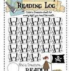 Pirate Reading Log for Primary Students - Sailing Through 1st Grade