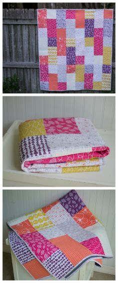 New Free Fat Quarter Fizz Quilt Pattern from Fat Quarter Shop! — SewCanShe   Free Daily Sewing Tutorials