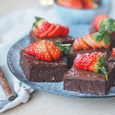 Brownies, Lchf, Granola, A Food, Diabetes, Sweets, Snacks, Baking, Desserts