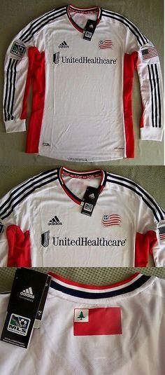 huge discount 53114 0ce0b Soccer-MLS 2888  Adidas Mls Soccer Men S  120 Ls Authentic Jersey New  England